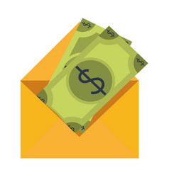 money envelope symbol vector image