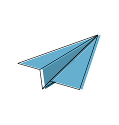 paperplane icon image vector image