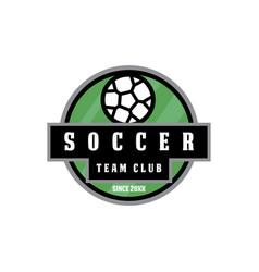soccer football logo vector image