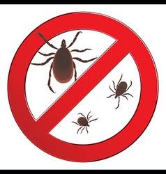 Mite spider Mite red Mite allergy Epidemic Mite vector image vector image
