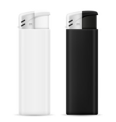 plastic disposable lighter vector image vector image
