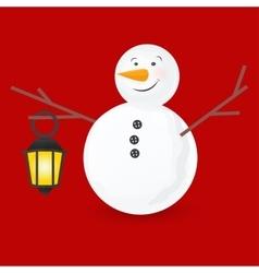 cute little snowmen vector image