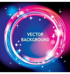 Light ring background vector image vector image
