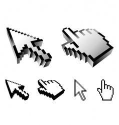 Cursor designs vector