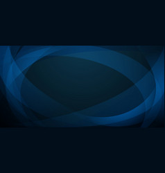 abstract background curved lines vector image