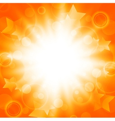 abstract bright summer explosion vector image