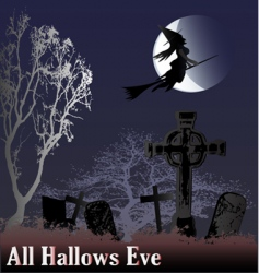Hallows eve vector
