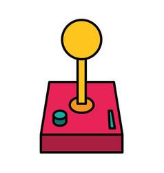 Joystick video game vector