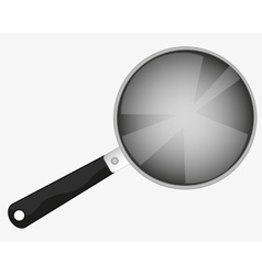 Kitchen utensil griddle vector