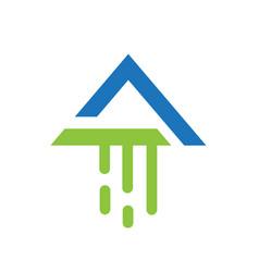 modern arrow vector image