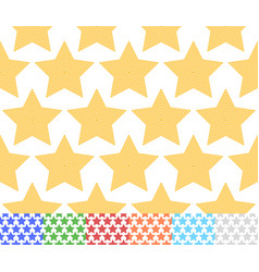 Set of colorful star backgrounds each tile is vector
