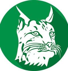 Lynx Icon vector image