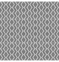 Striped zigzag texture vector image