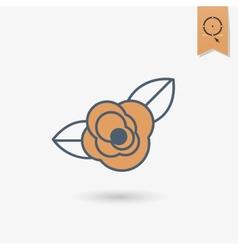 Happy Valentines Day Icon vector image vector image