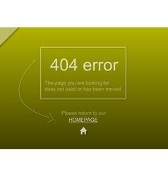 404 website error with text vector