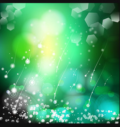 Abstract defocused bokeh lights nature vector