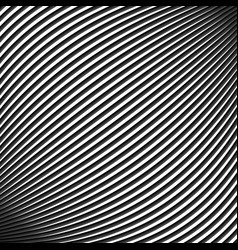Black and white contrast waves background vector