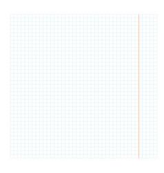 Blank checkbook sheet vector