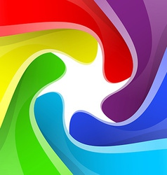 Colorful rainbow camera shutter background vector