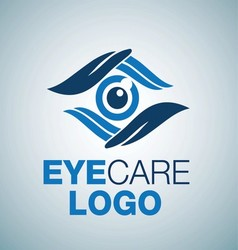 EYE CARE LOGO 8 vector image