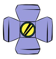 floodlight icon cartoon vector image