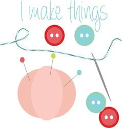 I Make Things vector