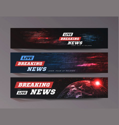 Live breaking news sport bews background can vector