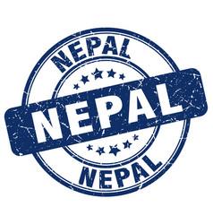 Nepal stamp vector