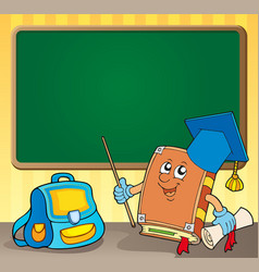 Schoolboard theme image 4 vector