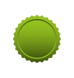 Seal stamp green tag banner icon graphic vector