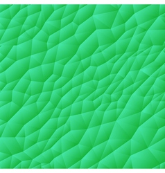 Seamless triangle pattern green vector