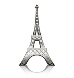 Eiffel tower vector image vector image