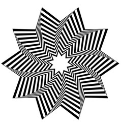 Concentric rotating spiral element vector