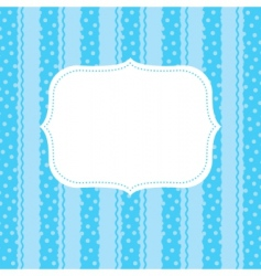 design element for greeting card vector image vector image