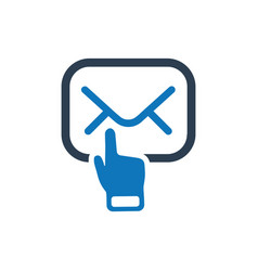 Email subscription icon vector