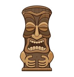 Hawaii idol icon cartoon style vector