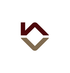 Home real estate initial b vector
