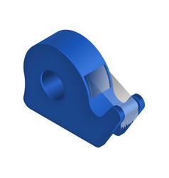Isometric sticky tape vector