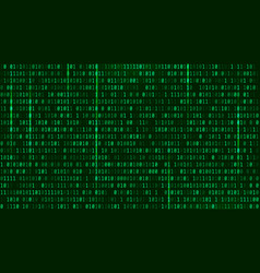 Matrix background style computer virus and hacker vector