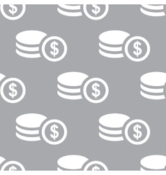 Money seamless pattern vector