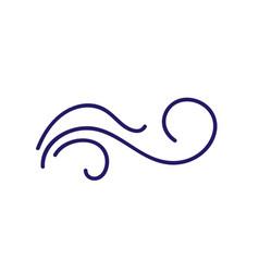 Monoline calligraphy scandinavian folk flourish vector