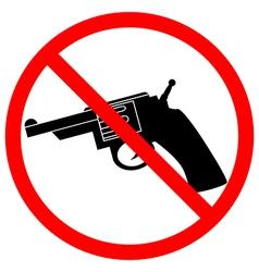 No revolver icon vector