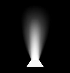 open door light vector image