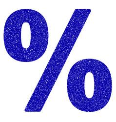 percent icon grunge watermark vector image