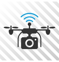 Radio Camera Drone Eps Icon vector