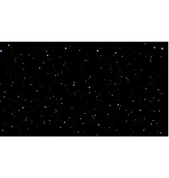 stars sky night vector image