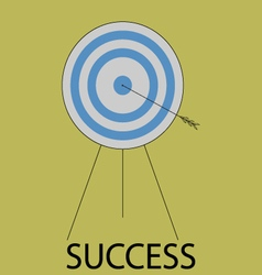 Succes icon flat design vector image vector image