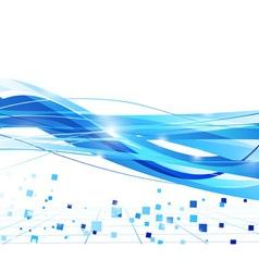 transparent wave background vector image