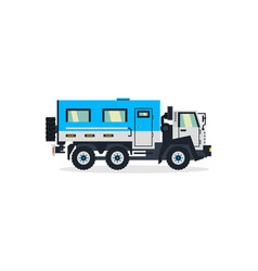 truck for transporting people commercial vehicles vector image