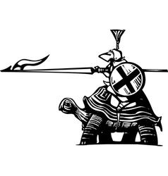 Turtle Knight vector